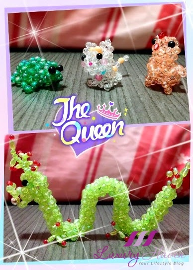 diy beaded animals handicrafts