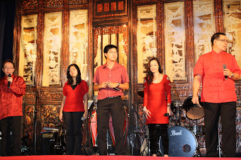 MOD performing for the SKE Chap Goh Mei dinner 2012