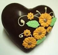Blog de chocolatesecia : CHOCOLATES PERSONALIZADOS, Ovos de Pascoa cora��o
