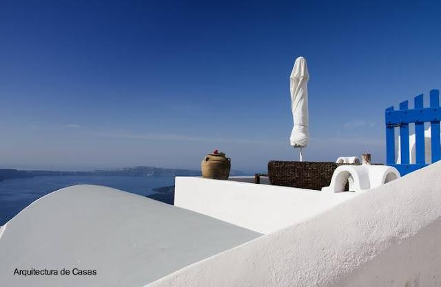Terraza abierta estilo Mediterráneo