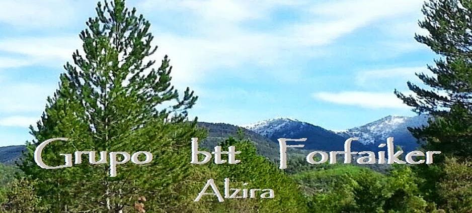 GRUPO BTT FORFAIKER ALZIRA (ESPAÑA).