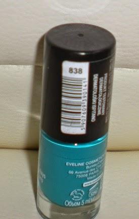 Lakier do paznokci MiniMAX kolor 838