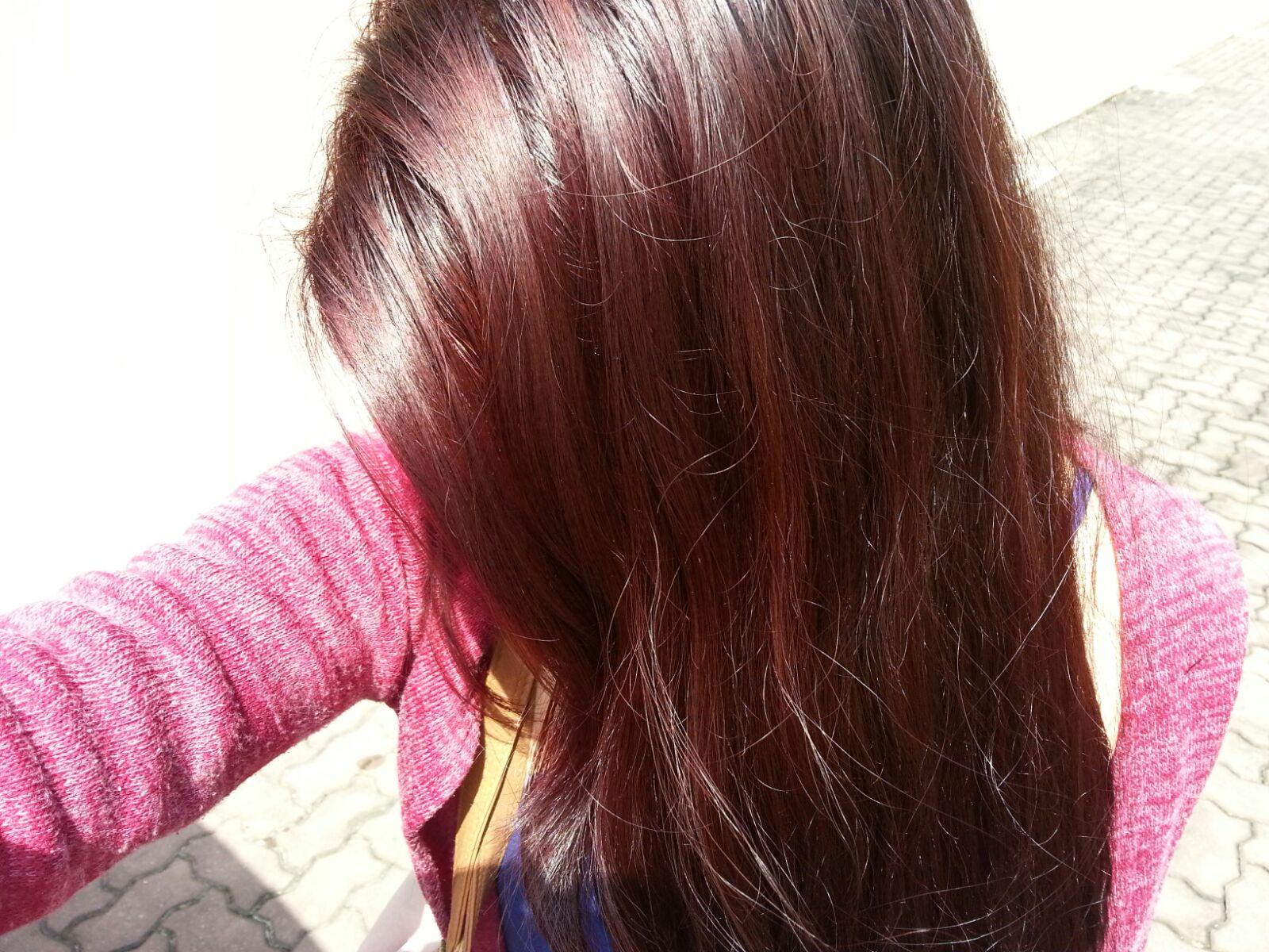 Review Silkygirl Color Shine In Crimson Cherry 42 Teeseirelav