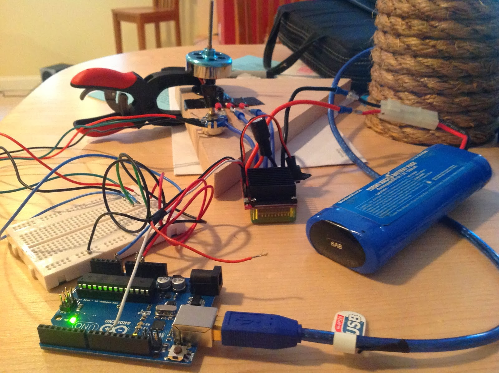 Robogoby rov auv submersible escs with raspberry pi and