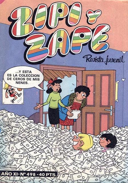Portada de Zipi y Zape Nº 498