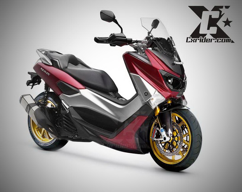 Modifikasi Motor Matic Yamaha