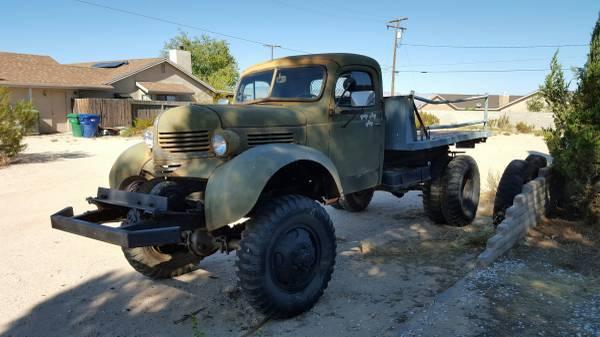 1940 Dodge VF402 4X4 Truck
