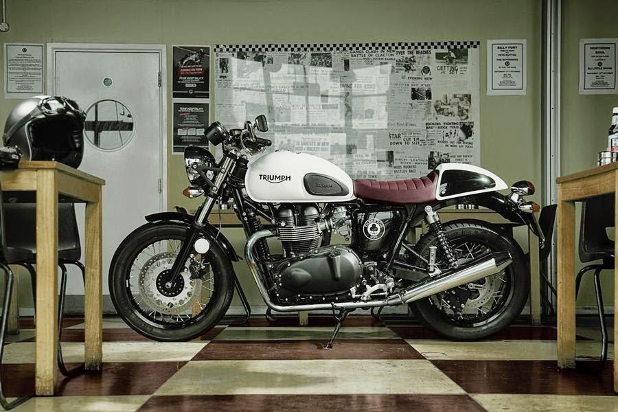 Triumph Thruxton Ace Special Edition (2014) Side