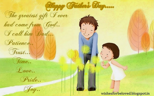 happy fathers day messages wishes greetings from son and daughter
