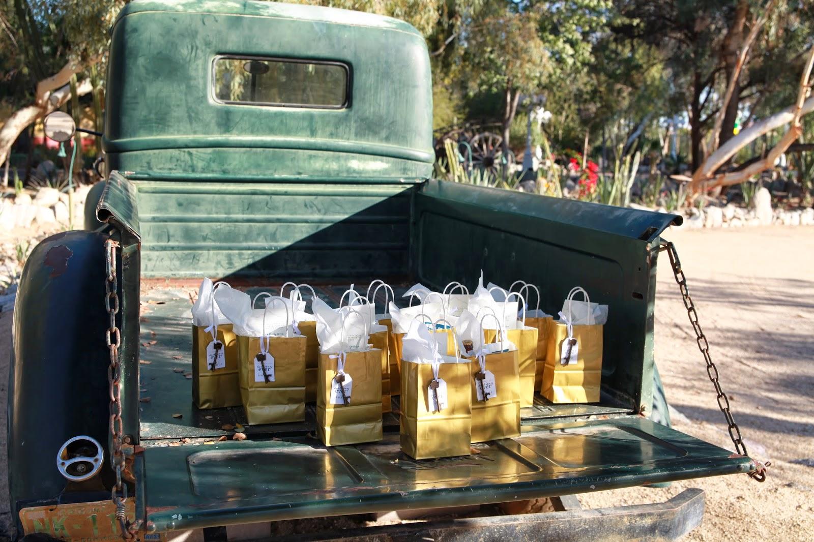 old truck at boojum tree phoenix arizona