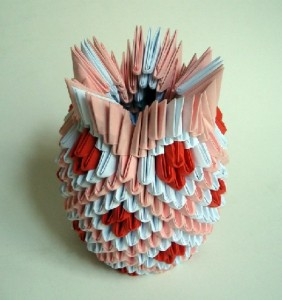 This Is A Small And Simple Vase In Origami Check Out The 3d
