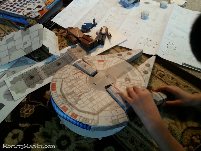 Mommy maestra star wars blueprints paper craft millennium falcon star wars blueprints paper craft millennium falcon adventure pack malvernweather Images
