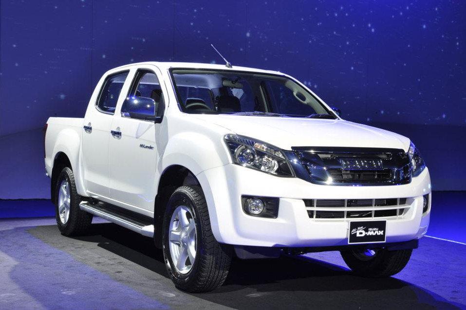 2012 Isuzu D-MAX Pickup Truck