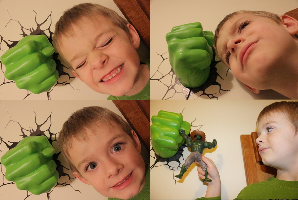 The Incredible Hulk 3D Deco Light - Thrifty Nifty Mommy