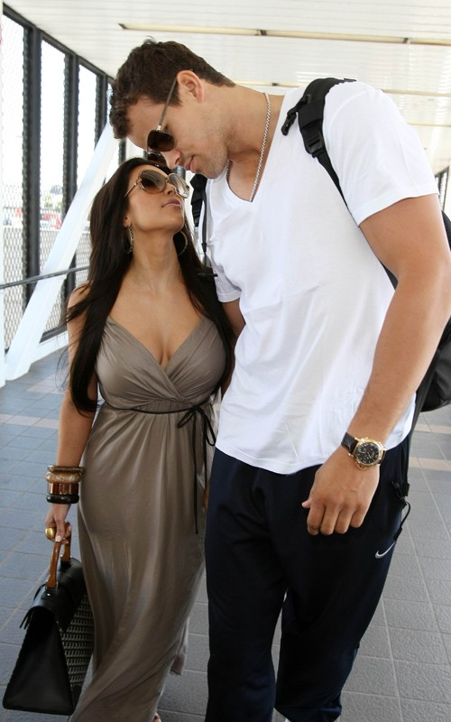 Kim Kardashian and Her Boy Friend