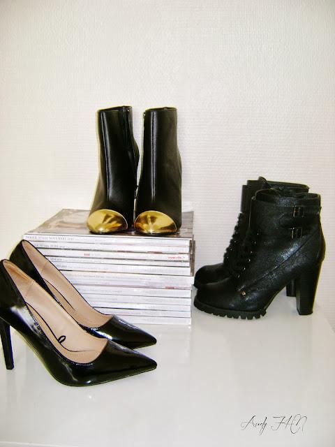 Les petits souliers noirs