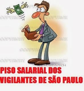 Piso Salarial dos Vigilantes - SP
