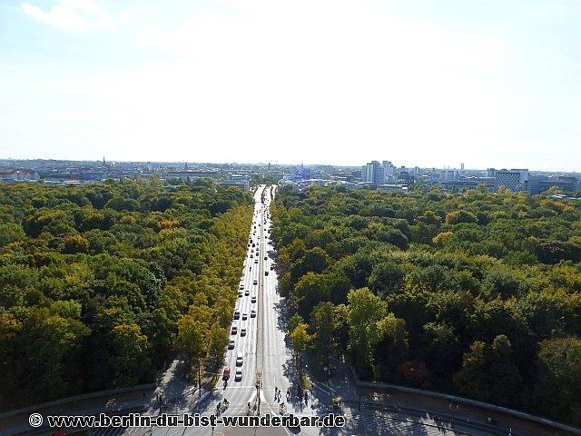 Berlin, denkmal, Siegessäule, panorama, Stadt, Brandenburger Tor