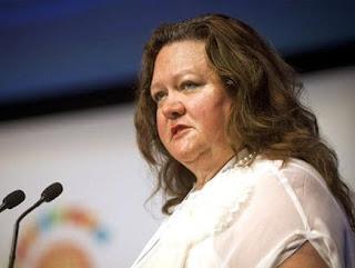 أغنى سيدة فى العالم تكسب 1.8 مليون دولار كل ساعة -  جينا راينهارت - gina rinehart