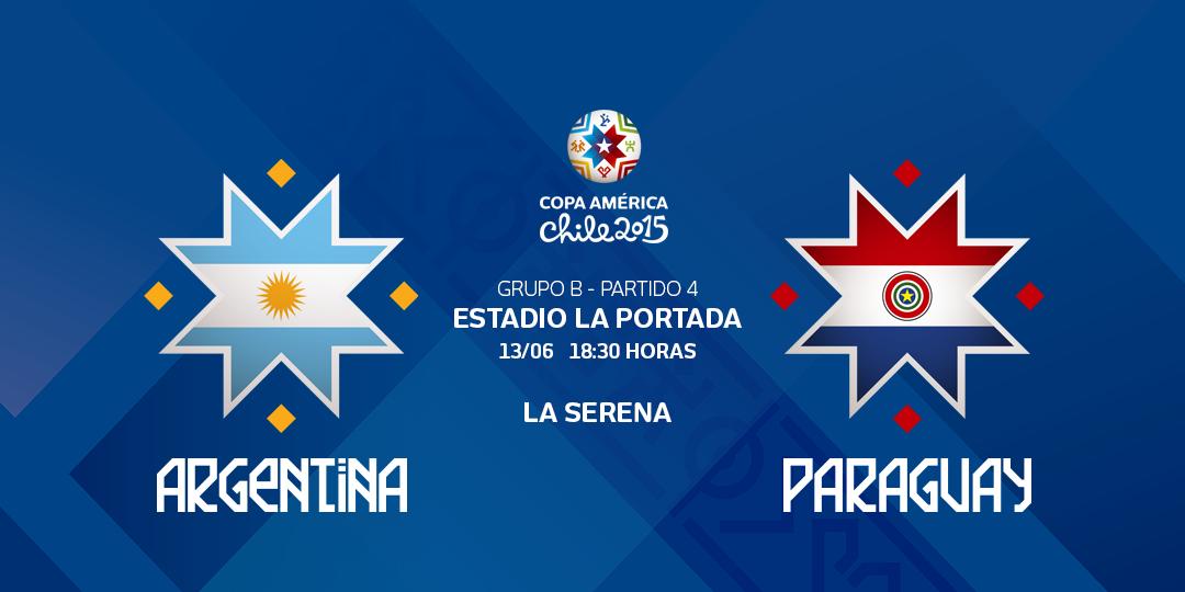 Ver Argentina vs Paraguay en vivo