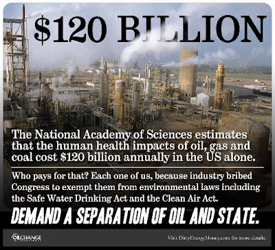 Infographic: separation of oil and state