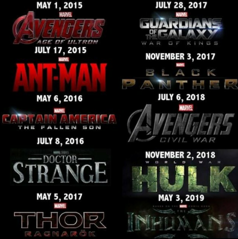 Marvel updates 2016 to 2019 movie release dates | In Entertainment