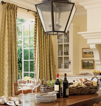New home interior design favorite window treatments for French country windows