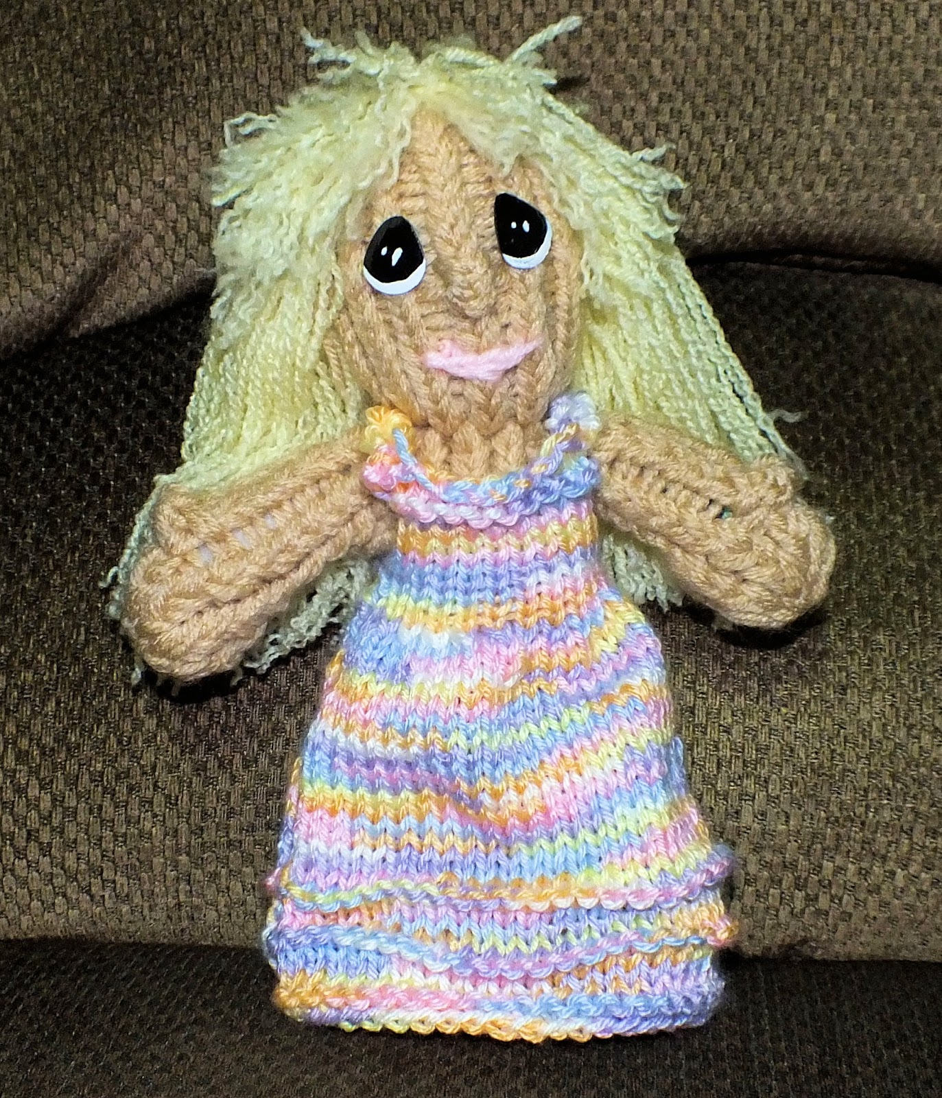 The Loom Muse : How to Loom Knit Doll Dress