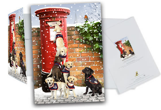 Charity Christmas cards for friends