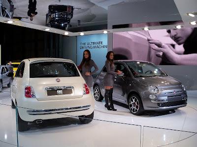 Fiat 500 International Motor Show di New York nel 2010