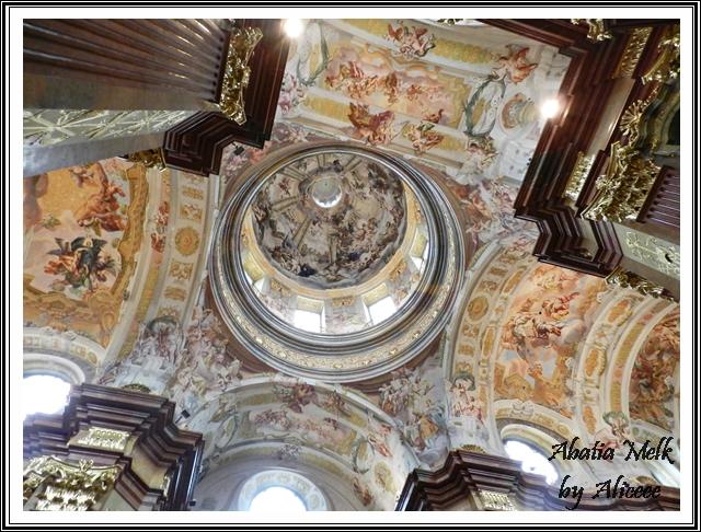 tavan-manastirea-melk-austria