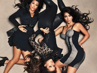 Khloe, Kourtney & Kim Kardashian, The Kardashian Kollection at Dorothy Perkins
