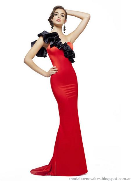 Las Oreiro 2013 vestidos fiesta 2013 moda argentina.