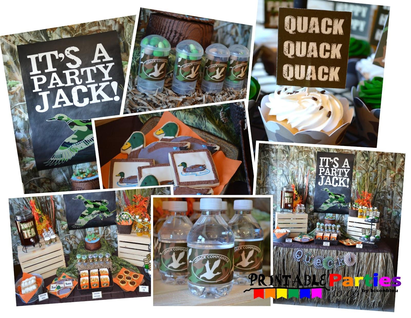 Duck Dynasty Birthday Party Ideas