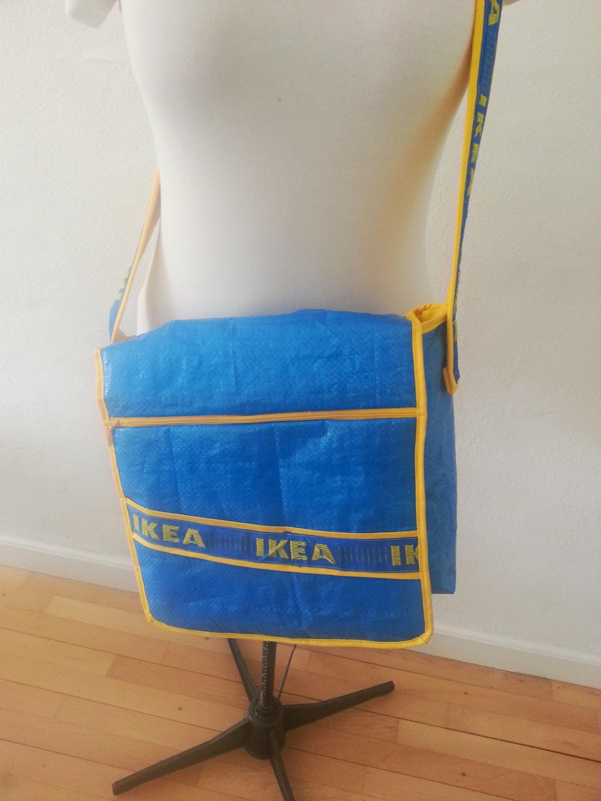 Ikea poser med lynlås