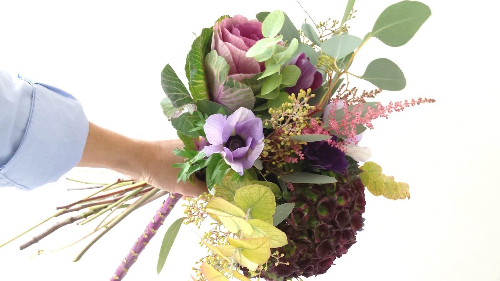 la petite boutique de fleurs fleuriste mariage lyon bouquet d 39 automne avec les premi res. Black Bedroom Furniture Sets. Home Design Ideas