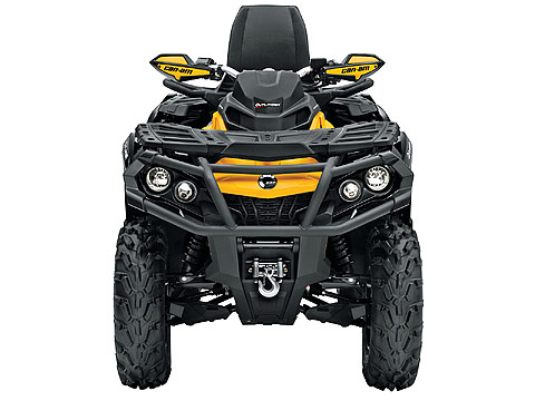 2013 Can-Am Outlander MAX XT-P 1000 ATV pictures. 480x360 pixels