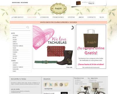 tienda online Amichi
