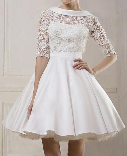 http://www.pickeddresses.com/satin-ball-gown-bateau-short-mini-lace-wedding-dresses-p842.html