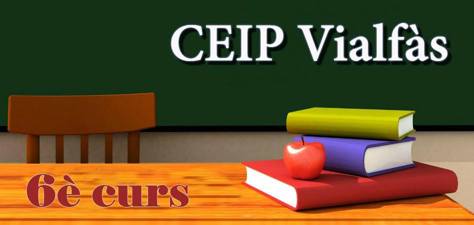 CEIP VIALFÀS - 6è curs PRIMÀRIA 2018/2019