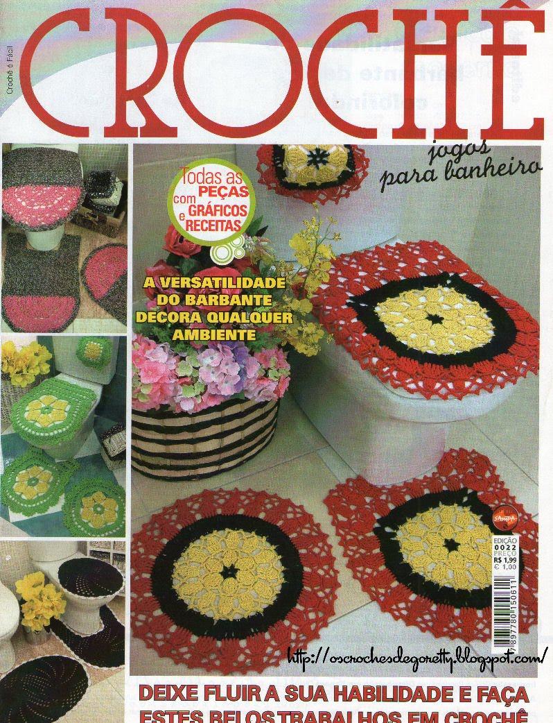 Revista Croch   Jogos Para Banheiro