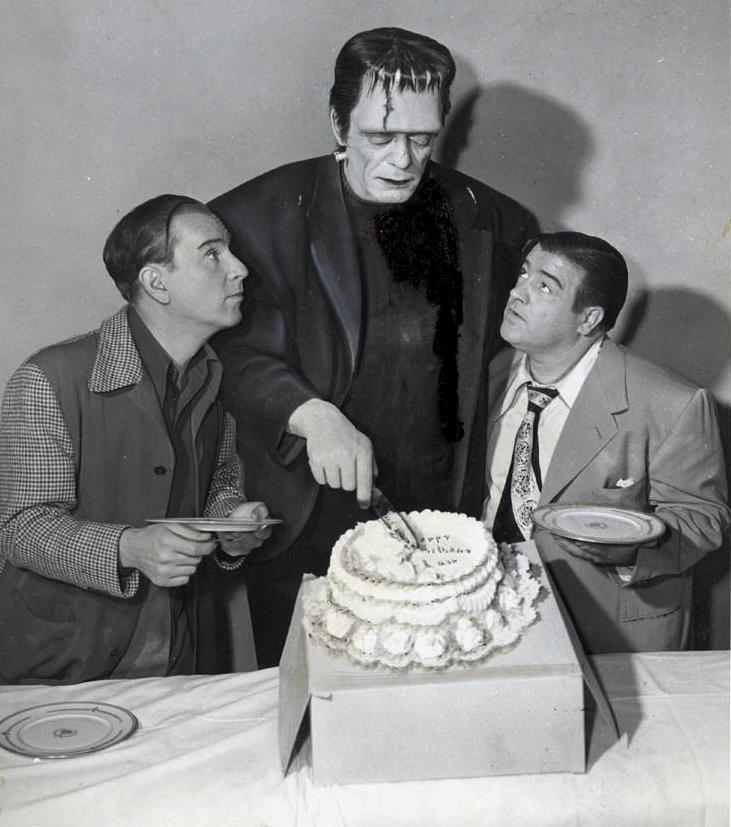 Abbott And Costello Birthday Cake