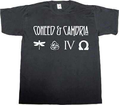 Coheed And Cambria rock progressive led Zeppelin t-shirt ephemeral-t-shirts