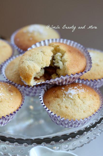 muffin al mascarpone e cocco