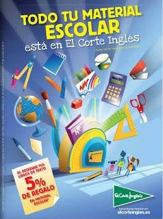 Vuelta al Cole El Corte Ingles 2013