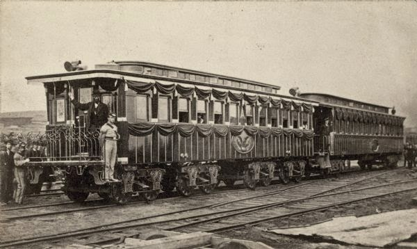 Lincoln S Funeral Train Car