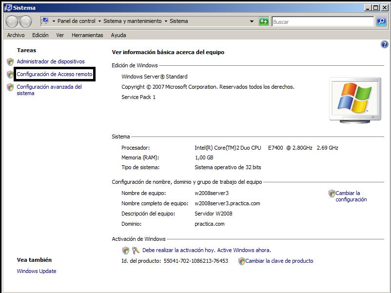 Blog de sor conexi n remota en windows 2008 server - Puerto de conexion remota ...