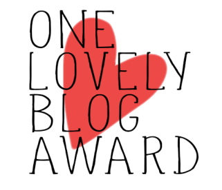 ¡ONE LOVELY BLOG AWARD!