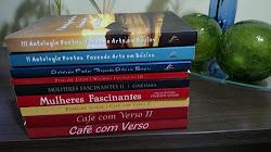 CAFÉ COM VERSO, MULHERES FASCINANTES, POETAS FAZENDO ARTES EM BÚZIOS