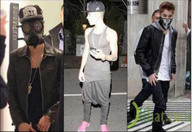10 Penampilan Aneh dan Trendi Justin Bieber
